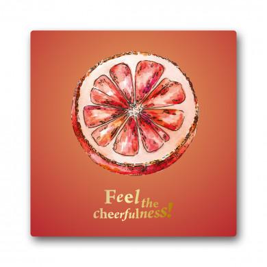 """Grußkarte """"Grapefruit-Freude"""""""
