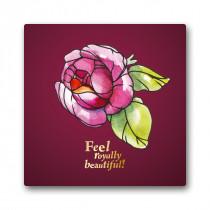 """Grußkarte """"Königliche Rose"""""""